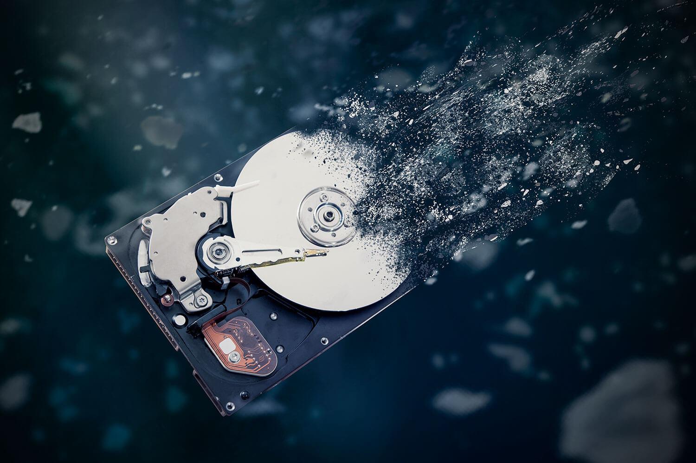 data security through data destruction