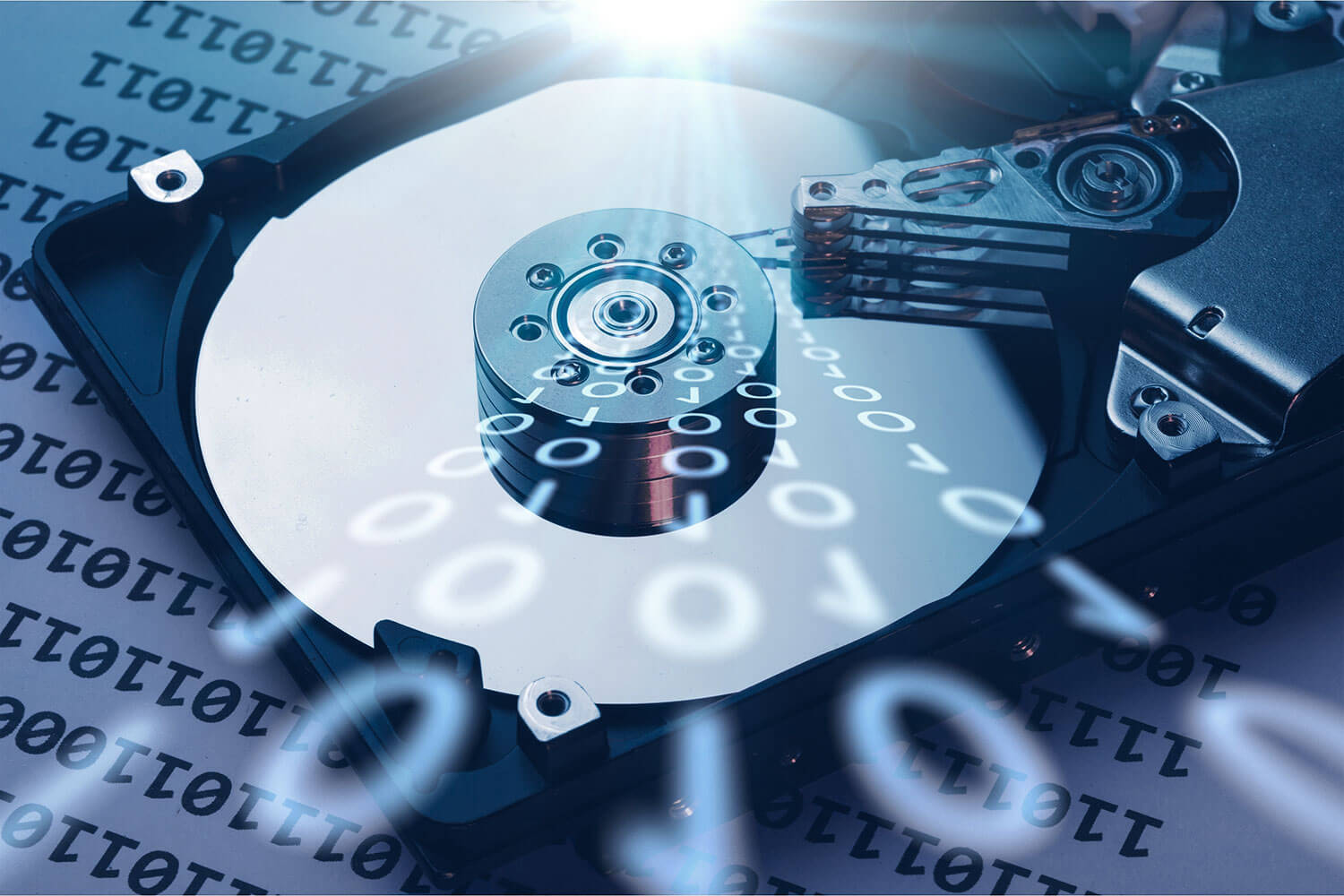 Encrypted media data recovery